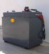 Réservoir de carburant professionnel 1400 Litres - Capacité : 1400 Litres
