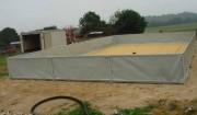Réservoir de stockage autoportant - Capacité : De 0,5 à 500 m³