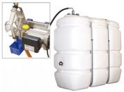 Réservoir de stockage avec pompe - Capacité (L) :1500