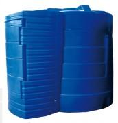 Réservoir de stockage double paroi - Capacité (L) : 5000 - 9000