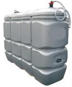 Réservoir de stockage pré-équipé - Capacité (L) : 750 à 2000.