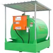 Réservoir diesel avec pompe - Capacité charge : de 5731 à 8986 litres