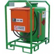 Réservoir gasoil mobile en acier - Capacité de charge : de 296 à 1000 Litres
