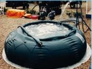 Réservoir ouvert souple de stockage - Capacité de de 1 500 à 100 000 litres