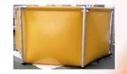 Réservoir souple autoportant ouvert - Capacité : de 1 à 35 m³