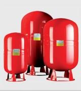 Réservoirs à pression vessie pour eaux chaudes de 35 à 500 L