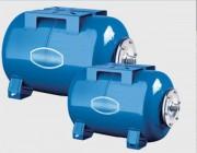 Réservoirs à vessie horizontale de 18 à 300 L - Capacité (L) : de 18 à 300
