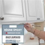Résine epoxy Multi surfaces pour mur  - Résine epoxy Multi surfaces 0,5L