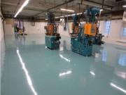 Résine époxy pour sol industriel - Consommation moyenne : 500 g / m²