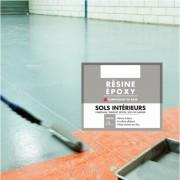 Résine époxy spécial sols intérieurs - Résine époxy pour sols intérieur 2 et 4L