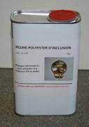 Résine polyester d'inclusion - Pot de 1 kg