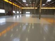 Résine sol industriel - Consommation moyenne : 100 à 150 g/m²