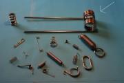 Ressort de torsion industriel - Diamètre de 0,3mm jusqu'à 45mm