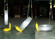 Retourneur de bobines - Relevage de bobines