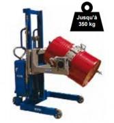 Retourneur de fut 230 litres - Charge maximale (Kg) : 350