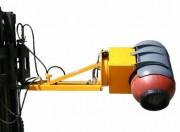 Retourneur de fût hydraulique - Capacité (kg) : 500