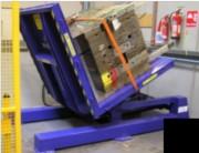 Retourneur de palettes 15 tonnes - Capacité de charge (T) : 15