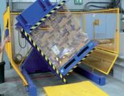 Retourneur de palettes au sol - Capacité de charge (Kg) : 1500