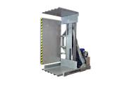 Retourneur de palettes fixes - Retourneur échangeur de palette à poste fixe