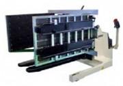 Retourneur de palettes mobile avec transpalette électrique - Charge maximale (Kg) : 1500