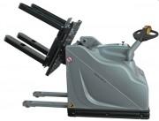 Retourneur échangeur à palettes larges - Format palette : 1000x1200 mm - Charge maximale : 1200 kg