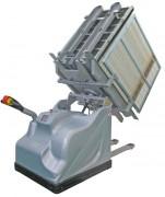 Retourneur palette avec châssis - Dimension max de la palette 800 x 1200 mm - Charge maximale :1500 kg
