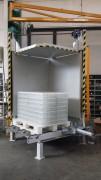 Retourneur palette électrique - Capacité maximum : 1500 Kg