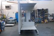 Retourneur palettes à 2 plate-formes - Capacité maximum : 1500 Kg