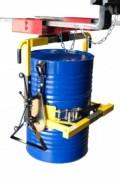 Retourneur pour fûts métalliques et plastiques - Charge utile (Kg) : 350