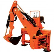 Rétrocaveuse pour tracteur - Profondeur de creusement max : 2.25 m