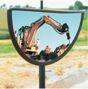 Rétroviseur spécial compacteur - Distance de visibilité (m) : 4