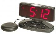 Réveil vibrant et amplificateur de sonnerie - Alarme puissante pour la sonnerie et le réveil
