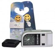 Réveil vibreur pour malentendant - Durée de l'alarme de 1 à 59 minutes