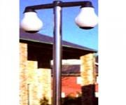 Réverbère avec luminaire - 1 diffuseur 3 mts