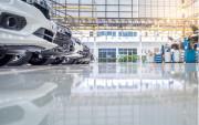 Revêtement autolissant résine époxy - Entrepôts, hangars, industries, ...
