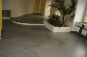 Revêtement béton ciré - Pour : sol - mur - escalier en béton