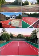 Revêtement de sol tennis intérieur extérieur - Surface de TENNIS agrée par l'ITF