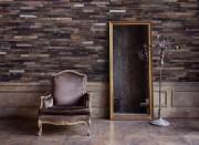 Revêtement mosaïque en bois