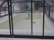 Revêtement mural décontaminable pour piscines