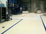 Revêtement sol entrepôt en résine méthacrylate - D'une excellente durabilité et clarté