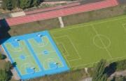 Revêtement sols sportifs caoutchouc recyclable - À usages multiples