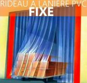 Rideau à lanière pvc fixe - Atténuation sonore : Supérieure 35dB