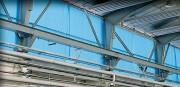 Rideau de protection solaire industriel - Grammage : 300g/m² - Tissu polyester 1100 dtex