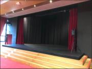 Rideau de scène ignifuge - Différentes hauteurs et largeurs