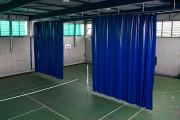 Rideau de séparation de salle - Conforme aux normes et décrets officiels