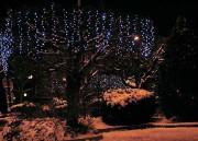 Rideau lumineux prolongeable bleu - Prolongeable en hauteur et en largeur