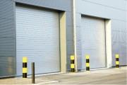 Rideau métallique isolé - Hauteur utile (mm) : de 3000 à 8000