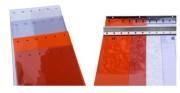 Rideaux lanières de remplacement - Dimensions : 100/2, 200/2, 300/2, 300/3, 400/3, 400/4 mm