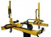 Robot cartésien presse à injecter - Puissance jusqu'à 450 Tonnes