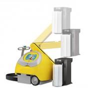 Robot de banderolage à bras articulé - 230 V 50/60 Hz monophasé - Pour palette 600x600 mm
